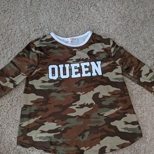 long sleeve camouflage shirt